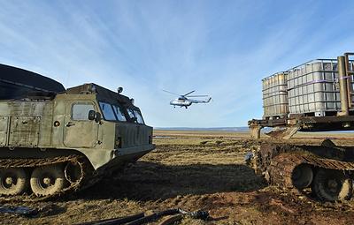 Группировка по ликвидации разлива топлива в Норильске увеличена до почти 500 человек