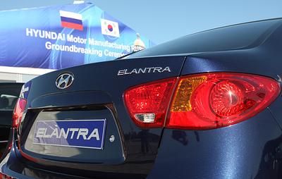 Hyundai отзывает в России более 47,5 тыс. седанов Elantra
