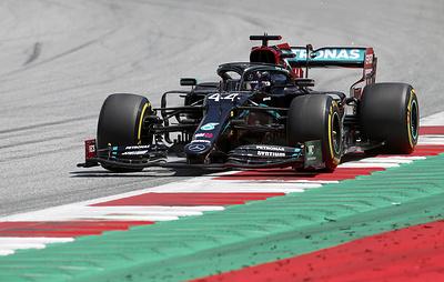 """Хэмилтон стал лучшим в третьей практике австрийского этапа """"Формулы-1"""""""