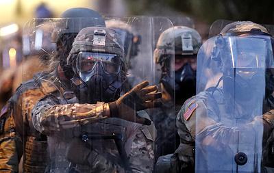 Губернатор Джорджии из-за протестов повторно задействовал Нацгвардию в Атланте