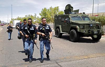 Двое полицейских погибли в результате перестрелки в Техасе