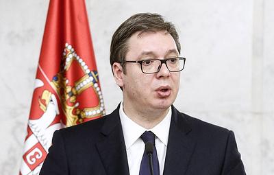 Президент Сербии заявил о возобновлении диалога Белграда и Приштины при посредничестве ЕС