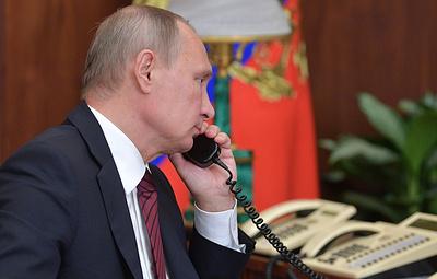 В Кремле рассказали о содержании беседы Путина и Эрдогана