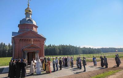 На Валааме открылась часовня в честь преподобного Германа Аляскинского