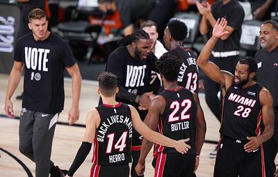 """""""Лейкерс"""" сыграют с """"Майами"""" в финале плей-офф НБА"""