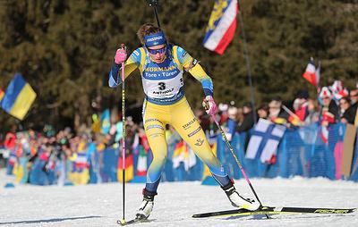 Олимпийская чемпионка Эберг впервые в карьере выиграла спринт на этапе Кубка мира