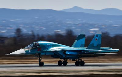 """Компания """"Сухой"""" завершила выполнение контракта на поставку Су-34 Минобороны"""