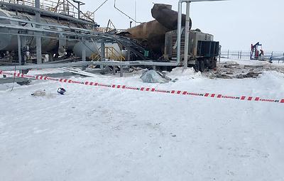 На предприятии в Татарстане при разрушении резервуара погибли двое рабочих