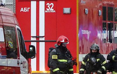 Движение по улице Наметкина на юго-западе Москвы перекрыто из-за пожара в автобусе