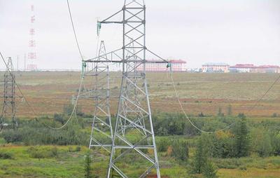 """""""Россети"""" завершили реконструкцию ЛЭП, питающих супергигантское месторождение газа"""