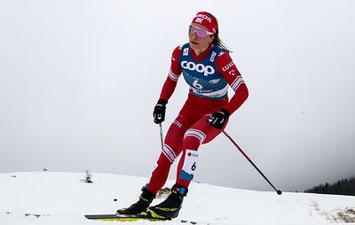 Лыжница Непряева рассказала, что переоценила свои силы в скиатлоне на чемпионате мира