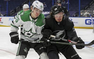"""Два очка Сергачева помогли """"Тампе"""" разгромить """"Даллас"""" в матче НХЛ"""