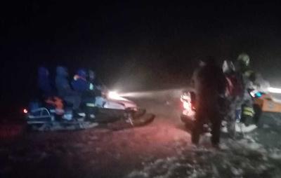 В Оренбургской области спасатели эвакуировали 46 человек из снежных заносов