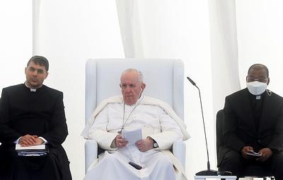 Папа Римский Франциск призвал к миру на Ближнем Востоке