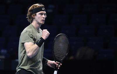 Андрей Рублев обыграл Циципаса и вышел в финал турнира ATP в Роттердаме