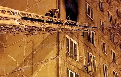 В Башкирии при пожаре в многоквартирном доме погибли три человека