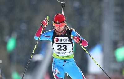 Биатлонистка Васильева с большой вероятностью пропустит чемпионат России из-за пневмонии