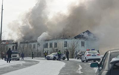 В Салехарде произошел пожар в жилом доме