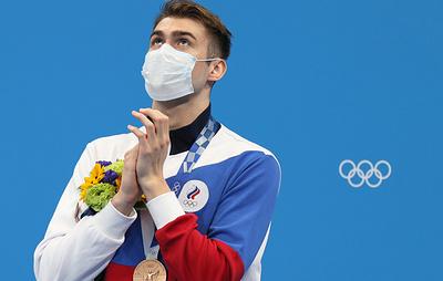 Пловец Колесников поделился ощущениями от отсутствия гимна и флага на Играх в Токио