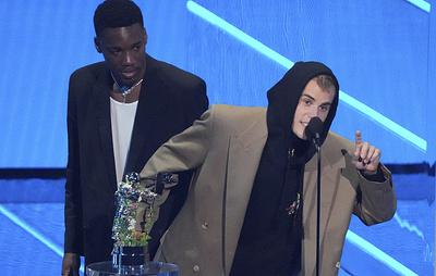 Джастин Бибер стал исполнителем года по версии MTV