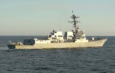 ВМС США заявили, что эсминец Chafee не нарушал международное право