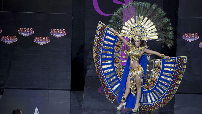 На третьем месте - представительница Эквадора Констанца Баес. AP Photo/Pavel Golovkin