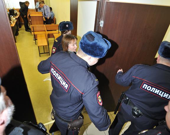 Екатерина Заспа в суде.