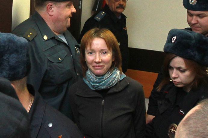 Россиянка Екатерина Заспа, работавшая судовым врачом на Arctic Sunrise.