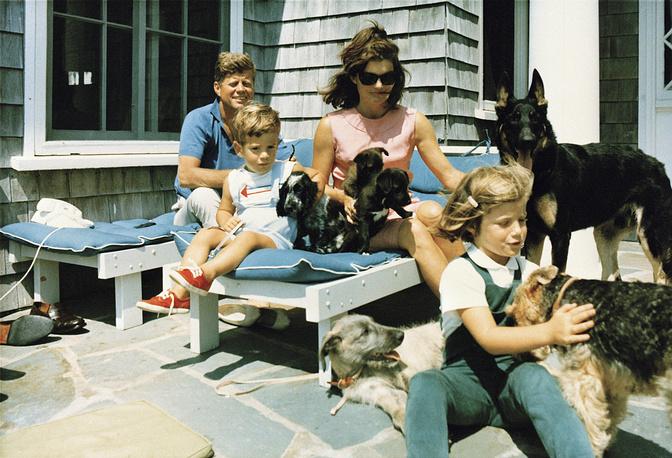 Семья Кэннеди 14 июля 1963