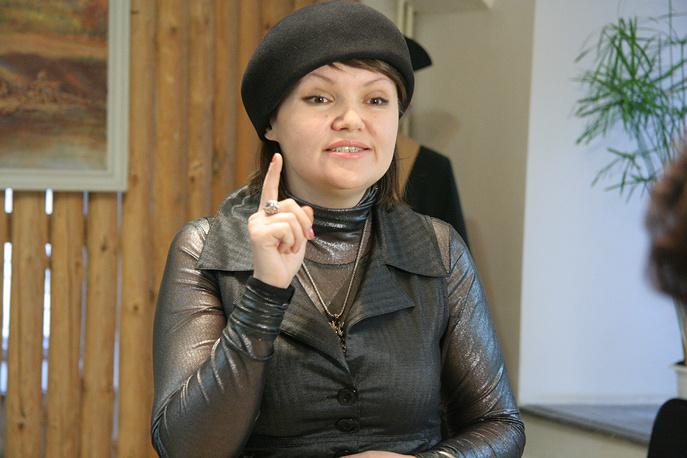 Скульптор Ольга Красношеина