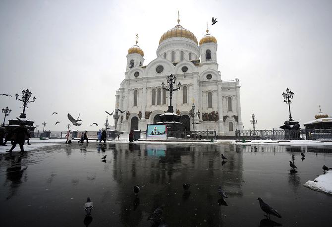 Храм Христа Спасителя, 2013 г.