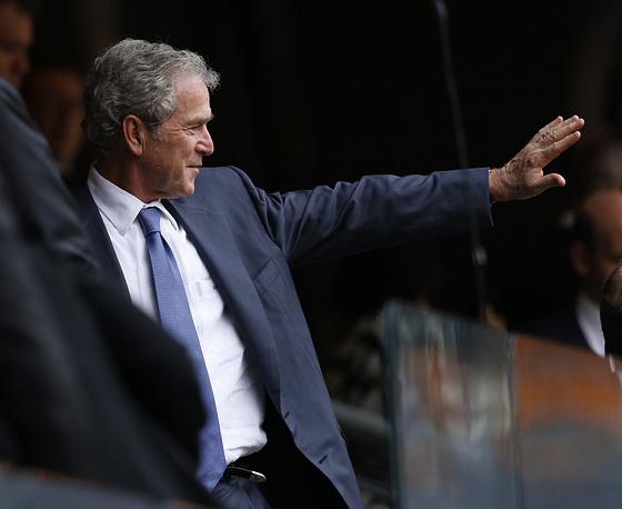 Экс-президент США Джордж Буш