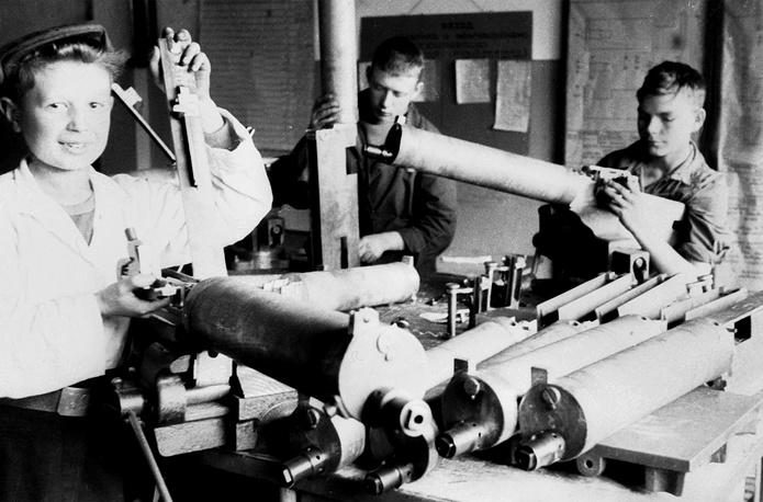 Работа в  тылу. 1942 г.