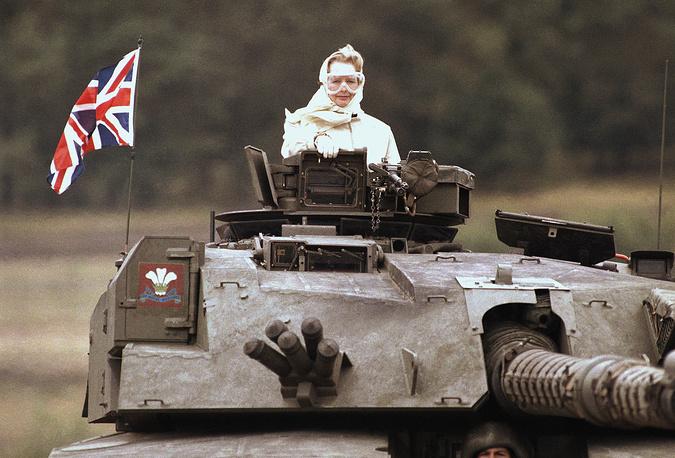 Скончалась Маргарет Тэтчер -  железная леди Великобритании (фото 1986 года)