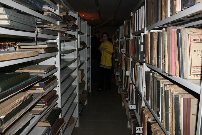 Хранилище Библиотеки им. Белинского