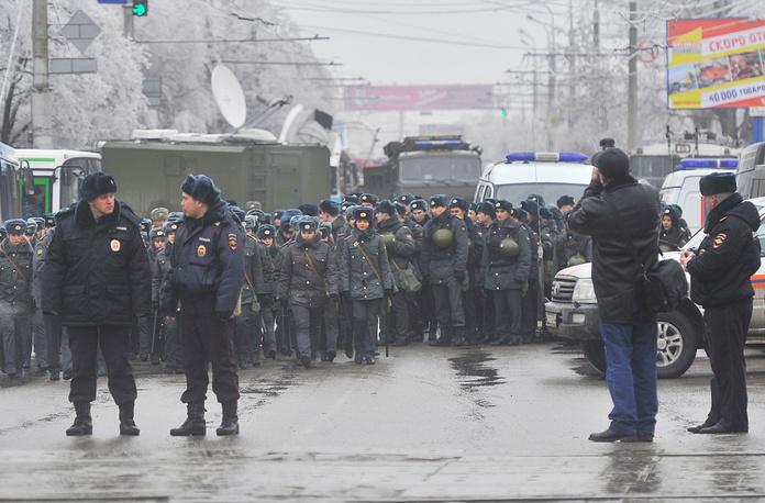 Усиление мер безопасности в Волгограде