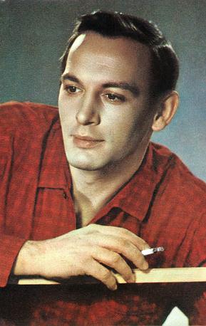 Актер Василий Лановой. Фото Бюро пропаганды советского киноискусства. 1968 год