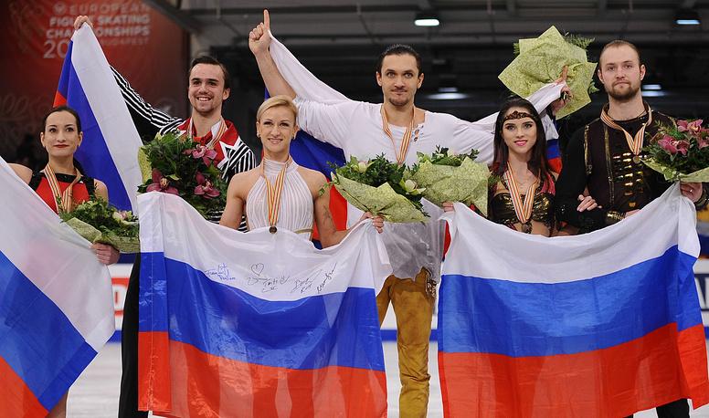 Российские спортивные пары