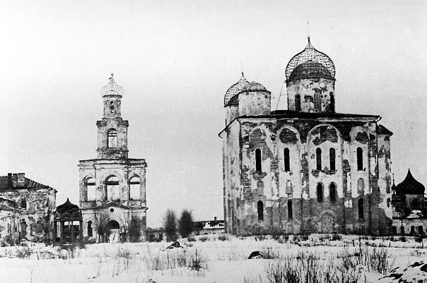 Юрьев монастырь после войны