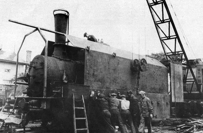 Бронирование паровоза, 1941 год