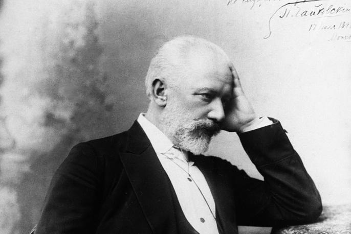 Русский композитор Петр Ильич Чайковский