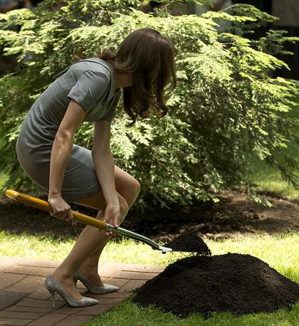 Герцогу и герцогине Кембриджским Уильяму и Кейт не раз приходилось принимать участие в посадочных работах во время официальных церемоний. Во время визита в Канаду в июле 2011 года молодожены посадили дерево в Оттаве