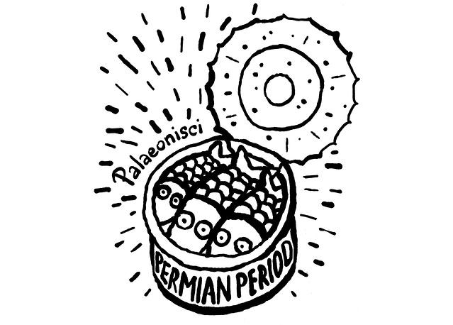 """Официальный логотип проекта """"Открой пермский период!"""""""