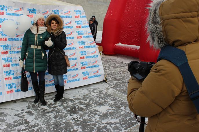 """Акция """"Моя Олимпиада"""" в Историческом сквере Екатеринбурга"""