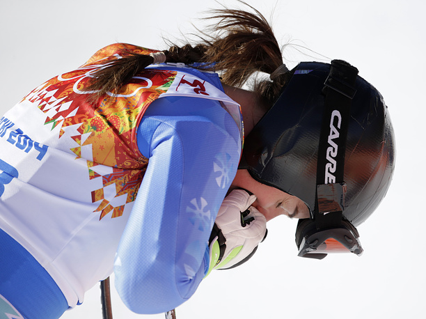 Словенская горнолыжница Тина Мазе