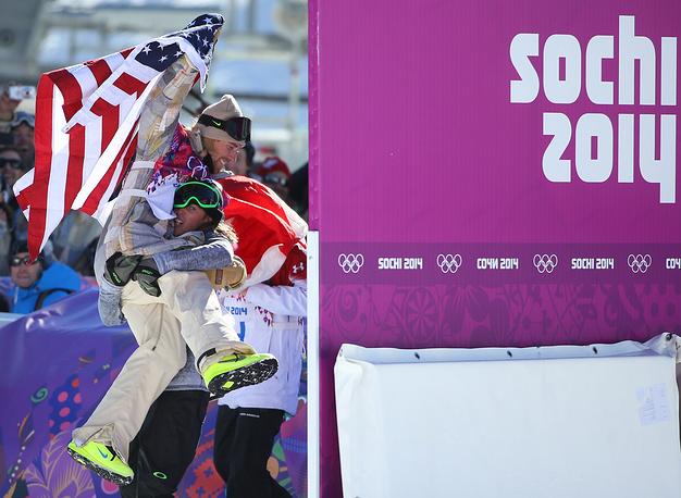 Американский сноубордист Сейдж Котсенбург