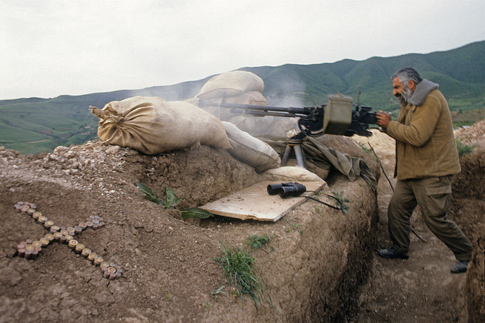 Нагорный Карабах. Гадрут. В зоне боевых действий, 1992 год