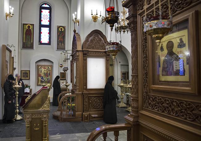 В Воскресенском кафедральном соборе в Южно-Сахалинске