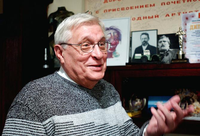 Народный артист России Олег Басилашвили.