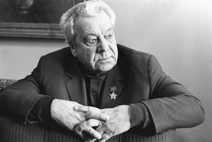 Участник спасения челюскинцев генерал-майор авиации Анатолий Ляпидевский.1979 г.